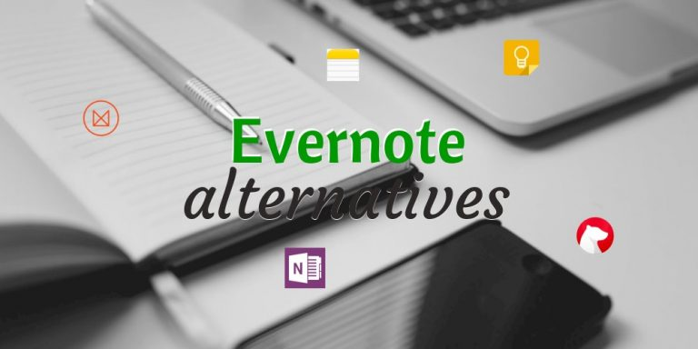 6 alternatives à Evernote pour 2017
